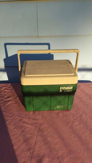 Small Green Cooler for Sale in Ferndale, MI