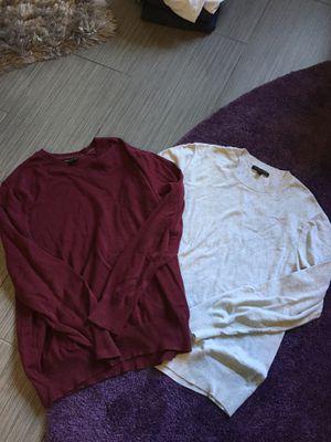 Men's grey and maroon Banana Republic Sweaters (large) for Sale in Alexandria, VA