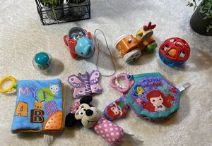 Teething baby toys lot for Sale in Houston, TX