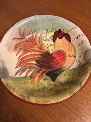 Rooster kitchen table bowl for Sale in Somerville, MA