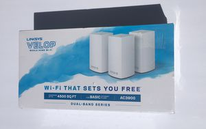 Whole Home Wi-Fi - wi fi extender- Linksys for Sale in Garden Grove, CA