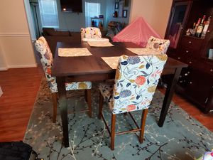 Counter Height Dining Table with Leaf for Sale in Virginia Beach, VA