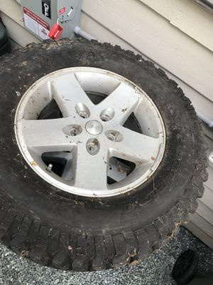 5 Jeep Wrangler Rubicon wheels and tires with TPMS sensors for Sale in Kirkland, WA