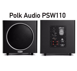 Polk Audio PSW110 powerful 200 Watts 10inches subwoofer with Monster cable $125 for Sale in Phoenix, AZ