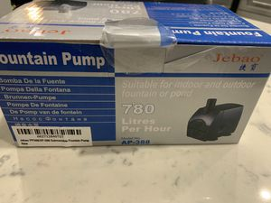 Jebao PP388/AP-388 Submersible Fountain Pump for Sale in Lakewood, CA