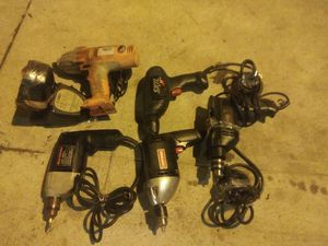 Drills. Total -5- drills. for Sale in Los Angeles, CA