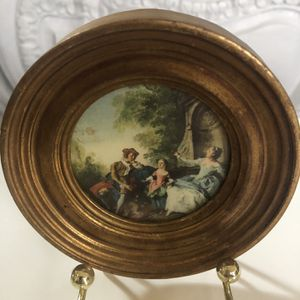 Antiqued Florentine Plaque (Made In Italy) for Sale in Stockton, CA