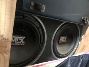 Mtx subwoofer for Sale in Apple Valley, CA