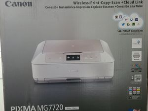 Canon PIXMA MG7720 Whirte Wireless All-In-One Inkjet Printer - New for Sale in Miramar, FL