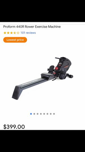 ProForm 440R Rower. Retails for $400. Brand new never opened box. for Sale in Charlotte, NC