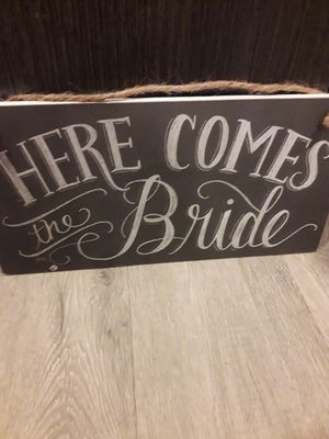 Here comes the bride sign for Sale in Jacksonville, FL