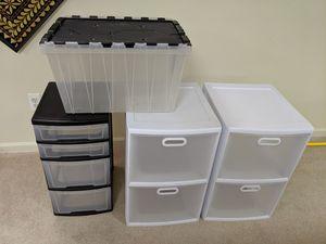 Plastic Storage Drawers for Sale in Troy, MI