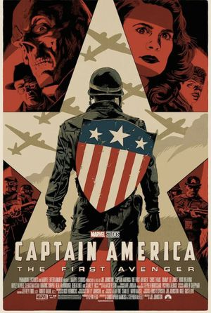 Marvel Disney captain America winter soldier mondo Limited numbered print for Sale in Cedar Park, TX