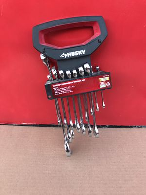 Husky SAE/Metric Combination Wrench Set (missing drive 17mm and 19mm) for Sale in Redlands, CA