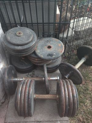 Weights 10lb increments (300lb Total) 5lb (20lb total) for Sale in Lomita, CA