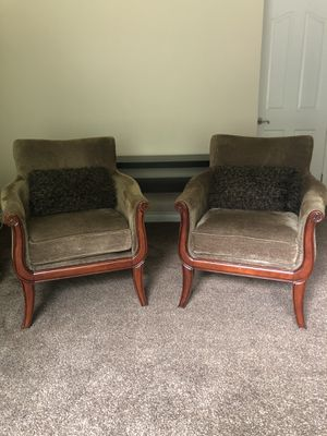 2 Accent Chairs For Sale - Good Condition $80 For Both for Sale in Pomona, CA