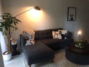 West Elm Gray Modular Sectional for Sale in Miramar, FL