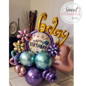 Birthday balloon arrangement for Sale in Virginia Gardens, FL