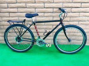 Trek hybrid vintage road mountain bike 850 (46cm / 48cm chromoly champion frame) performance new black Sefas tires tuneup Japan USA quality for Sale in San Diego, CA