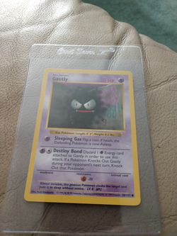 Pokemon Bundle. 1999 Gastly & 25th Anniversary General Mills Holo Pikachu Both For $16. for Sale in Redmond,  WA