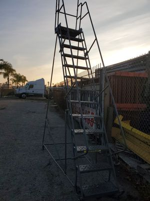 Rolling ladder, Warehouse ladder for Sale in Ontario, CA