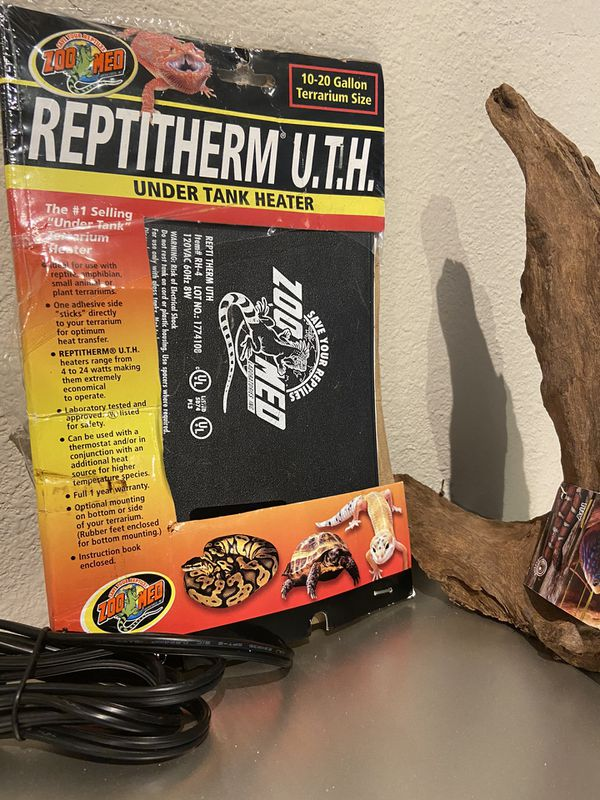 Reptile under tank heater & accent rock NEW