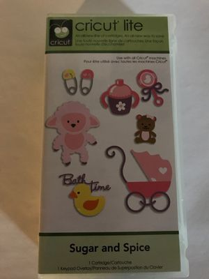 Cricut cartridge - Sugar and Spice for Sale in Wallingford, CT