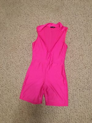Fashion Nova hot pink jumpsuit for Sale in Winterville, NC