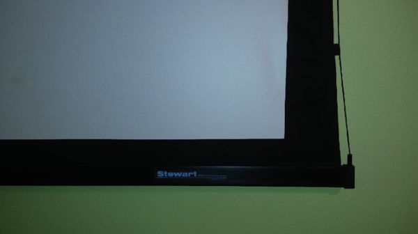 Stewart LXE 70 Motorized Projector Screen