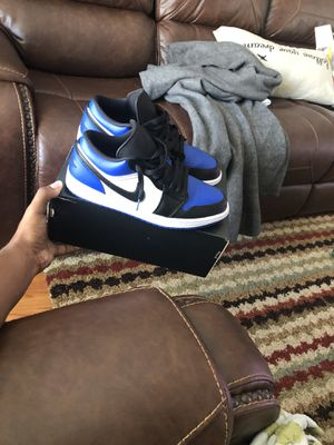 Jordan Royal 1 lows size 9.5 for Sale in Raleigh, NC
