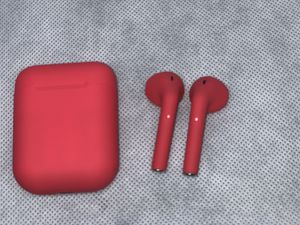 New matte red Bluetooth headphones for Sale in Aurora, CO