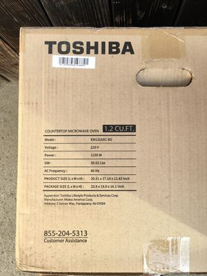 Toshiba microwave for Sale in Azusa, CA