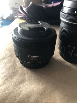 Canon 50mm and 10-18mm lens kit for Sale in Los Angeles, CA