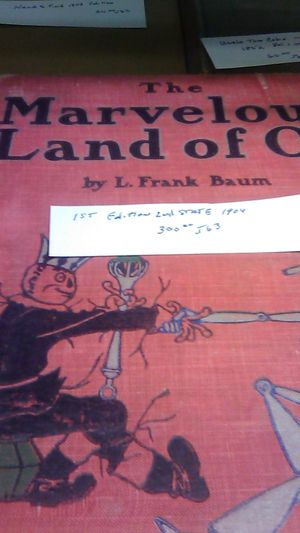 The Marvelous Land of Oz for Sale in Owego, NY