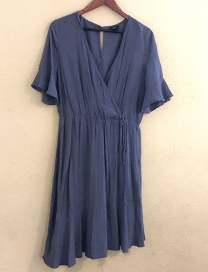Sage Blue Mossimo Midi Dress - Large for Sale in Oakland, CA