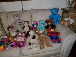 Build A Bear stuffed toys for Sale in San Bernardino, CA