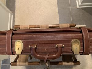 Antique Leather Luggage Excellent condition for Sale in Salisbury, MD
