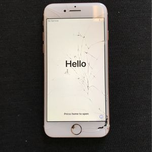 iPhone 8 Cracked But Works Fine for Sale in Glendale, AZ