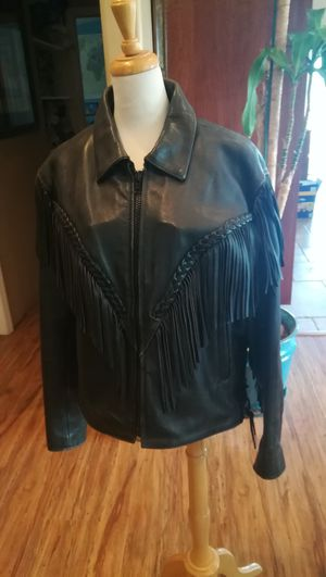 Women's motorcycle leather jacket for Sale in Vista, CA