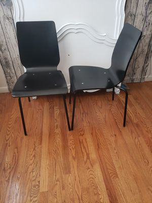 Set of2 Ikea Modern Wooden chairs for Sale in Arvada, CO