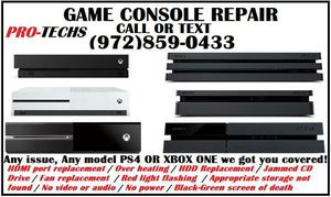 PlayStation 4 Pro + Xbox one X HDMI Replacement for Sale in Grand Prairie, TX