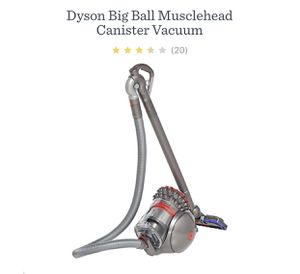 Dyson big ball musclehead canister vacuum for Sale in Dallas, GA