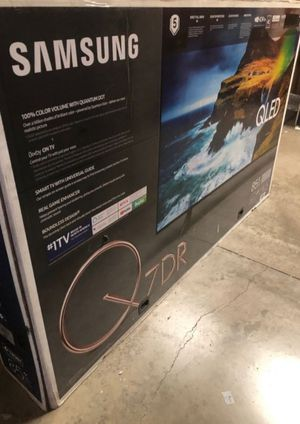 "85"" SAMSUNG QLED 4K UHD HDR SMART TV for Sale in Grand Terrace, CA"