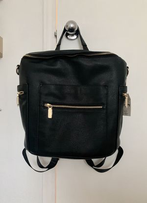 Stylish black diaper bag for Sale in Sanger, CA