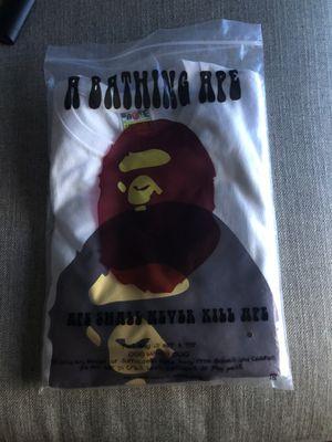 Men's Bape T shirt Small for Sale in Philadelphia, PA