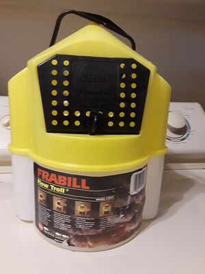 Frabill flow troll 6 at bait bucket. Model number 4501. PRICE REDUCED for Sale in Largo, FL