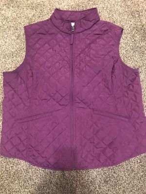 Quilted vest 2x women for Sale in Waxahachie, TX