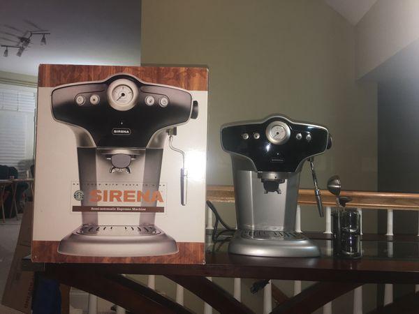 Starbucks Sirena Espresso Cappuccino Machine