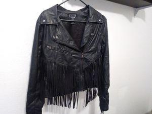 Shyanne Leather Fringe Jacket for Sale in Bakersfield, CA