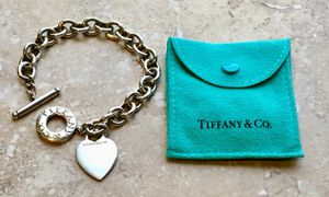 Tiffany & Co Toggle and Heart Charm bracelet for Sale in Sebring, FL